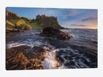 Sunset Beneath Dunluce Castle I, County Antrim, Northern Ireland