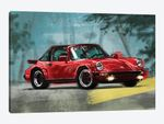 Porsche Air Cooled Red