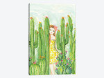 Day In The Desert Caitlin In The Cactus Garden