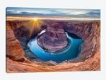 Sunset At Horseshoe Bend and Colorado River