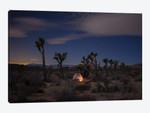 Lonely Tent Under Desert Stars
