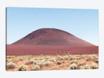 Red Sand Mound In California Desert