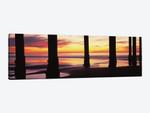 Silhouette Of Scripps Pier At Sunset, La Jolla, San Diego, California, USA II