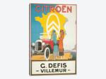 1925 Citroen Motoring Poster
