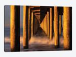 Manhattan Beach Pier from below, California, USA