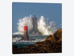 Big Wave On Lighthouse