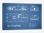 Jaguar C-Type (Blue)