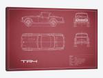 Triumph TR4 (Maroon)