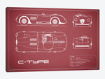 Jaguar C-Type (Maroon)