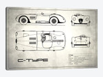 Jaguar C-Type (Vintage Silver)