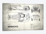 SS Cars Ltd. (Jaguar) 100 (Vintage Silver)