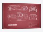 SS Cars Ltd. (Jaguar) 100 (Maroon)