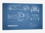 SS Cars Ltd. (Jaguar) 100 (Blue)