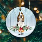 Beagle Circle Ornament