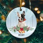 French Bulldog Circle Ornament
