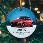 Personalized Audi A1 Ornament