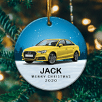 Personalized Audi A3 Ornament