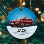 Personalized Audi A5 Ornament