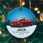 Personalized Audi A6 Ornament