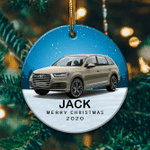 Personalized Audi Q7 Ornament