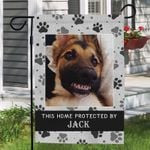 German Shepherd Garden Flag