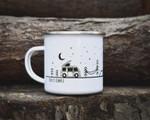 Campervan Decor Camping Mug Keep It Simple Enamel Mug Van Life Gifts For Campers RV Accessories