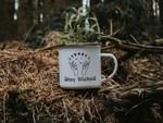 Halloween Mug Stay Wicked Witch Mug Enamel Custom Halloween Gift Mug Coffee Cup Camping Mug Personalised Fall Gift