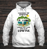 I Googled My Symptoms, I Love Camping Hoodie