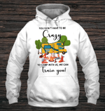You Don't Have To Be Crazy Camping Hoodie