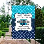 Personalized Pop up Camper Flag