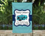 Fifth Wheel Camper Flag, Happy Campers Flag Personalized