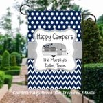 Personalized Campsite Flag with City and State
