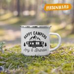 Personalized Happy Campers Mug, RV Camping, RV Mug