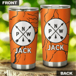 Personalized Name On Pacific Northwest Stainless Steel Tumbler