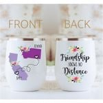 Personalized State to State Best Friend Mug