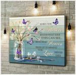 Canvas Butterfly (Purple) When You Believe