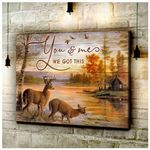 CANVAS Buck&Doe You & Me