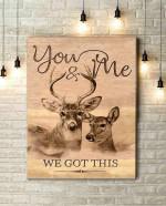 Canvas Buck & Doe You & Me