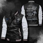 Bomber Leather Jacket - NTAT0009