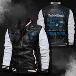 Bomber Leather Jacket - NTAT0005
