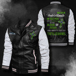 Bomber Leather Jacket - NTAT00029