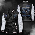 Bomber Leather Jacket - NTAT00031