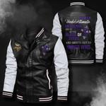 Bomber Leather Jacket - NTAT00020