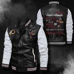Bomber Leather Jacket - NTAT00032