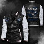 Bomber Leather Jacket - NTAT00014
