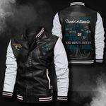 Bomber Leather Jacket - NTAT00015