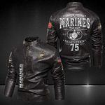 I'm a Marine Leather Jacket