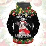 All I Want Is A French Bulldog Hoodie-QT011021Ha