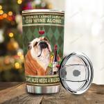 Animal Daso Bulldog Also Wine Tumbler QT010064Fa