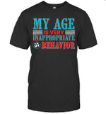 My Age Is Very Inappropriately For My Behavior